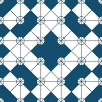 Ornament Vector seamless pattern. Modern stylish texture. Repeating geometric square grid. Simple graphic design. Trendy hipster sacred geometry