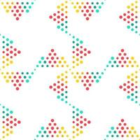 Diseño de fondo de patrón de círculo geométrico transparente - Ilustración de vector abstracto colorido de puntos