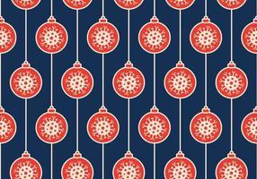Ilustración de vector de patrones sin fisuras covid de Navidad. protección antivirus y concepto de feliz navidad. vector de año nuevo 2021 y coronavirus covid-19 durante pandemia