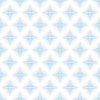 Abstract blue rhombus wave lines background texture in geometric ornamental style. Seamless design vector