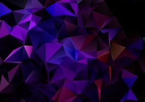 Dark geometric design background vector