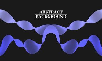 Fondo abstracto moderno con líneas onduladas en azul claro vector