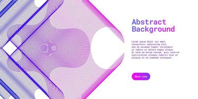 Abstract background with dynamic blue and purple vector