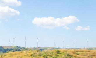 Wind turbines for generating power