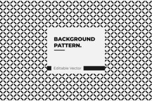 Modern Simple Geometric Pattern vector