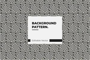 Interlocking Square Pattern vector