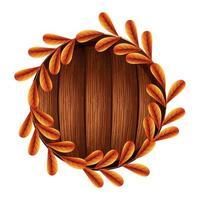 Autumn season leaves vector design
