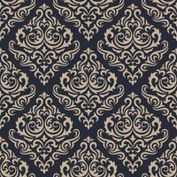 Damask seamless pattern. vector