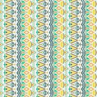 Seamless geometric pattern. Ethnic and tribal motifs. Hand drawn texture ornaments. Vector illustration ready for textile print.
