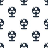 Seamless fan pattern background,Vector and Illustration.