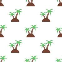 Seamless coconut tree pattern background,Vector and Illustration. vector