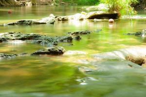 pequeño río en el bosque en tailandia