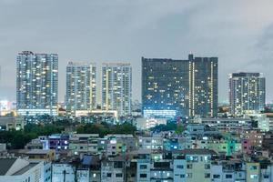 paisaje urbano de bangkok, tailandia