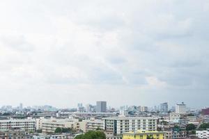 edificios en el centro de bangkok