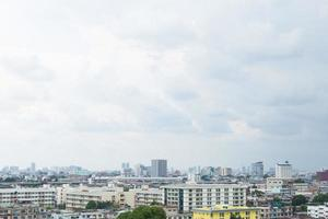 Buildings in downtown Bangkok photo