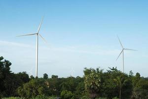 Wind turbines in Thailand