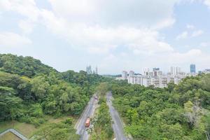 Road Park in Singapore photo
