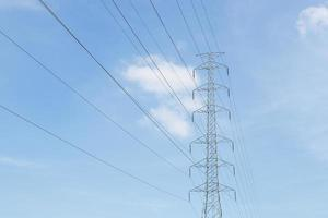 poste de alto voltaje