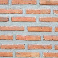 pared de ladrillo rojo foto