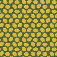 Yellow lemons pattern