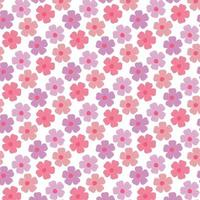 Colorful flowers pattern