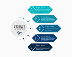 Business Infographics Collection Vector Illustration Design