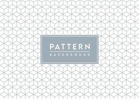 Cube Pattern Background Textured Vector Design