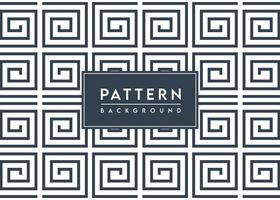 Spiral Square Pattern Background Textured Vector Design