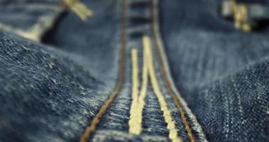 textura de tecido jeans azul e pontos