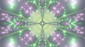 Bright Glowing Abstract Artwork
