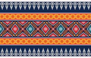 diseño de patrón geométrico étnico abstracto para el fondo