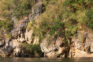 Cliffs at the river