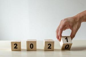 2021 bloques de madera foto