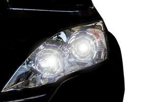 luz de la cabeza del coche