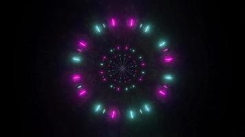 particules de l'espace de réflexions sombres