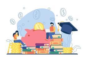 inversión en concepto de educación