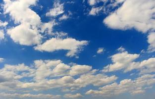 Blue sky and white clouds during the day