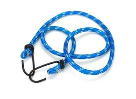 Blue bungee cord