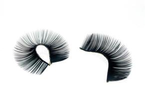 Two false eyelashes photo