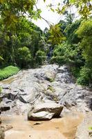 cascada en koh samui, tailandia