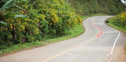 curva de la carretera