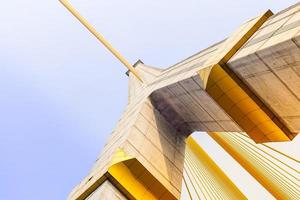 puente rama viii en bangkok, tailandia