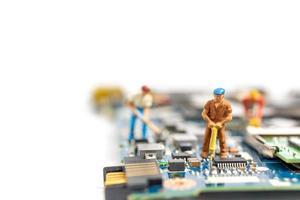 minería de datos de personas en miniatura