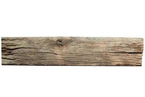 Wooden board on white photo