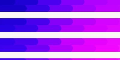textura de vector violeta, rosa claro con líneas.