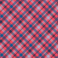 patrón de vector transparente de color de material tattersall