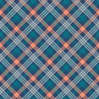 patrón de vector transparente multicolor de tartán