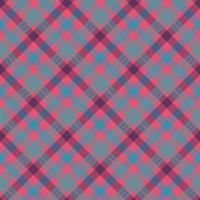 Tartan color seamless vector pattern