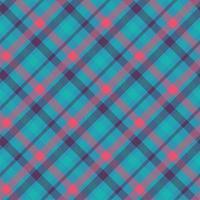 patrón de vector transparente de color tartán
