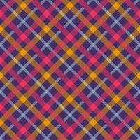 Flannel color seamless vector pattern